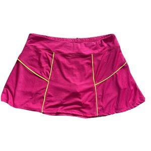Lija Women's Activewear Pink Skort Size L